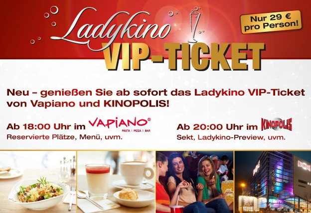 Ladykino VIP-Ticket