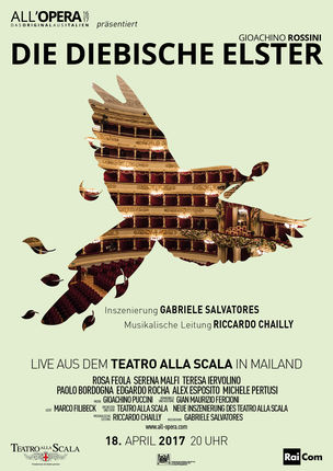 All'Opera: Die diebische Elster (Rossini) La Scala 2017