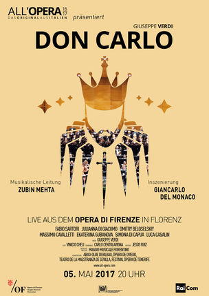 All'Opera: Don Carlos (Verdi) Florenz 2017