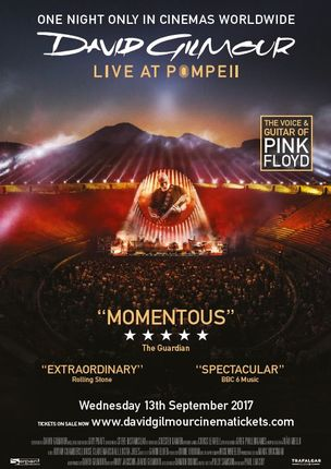 david gilmour live at pompeii kinoprogramm im kinopolis gie en. Black Bedroom Furniture Sets. Home Design Ideas