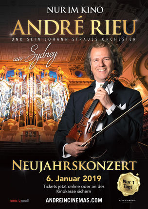 andr rieu 39 s neujahrs konzert aus sydney kinoprogramm im kinopolis freiberg. Black Bedroom Furniture Sets. Home Design Ideas