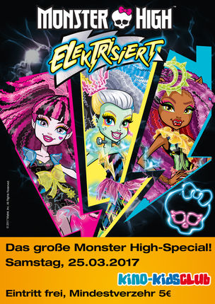 MONSTER HIGH ELEKTRISIERT
