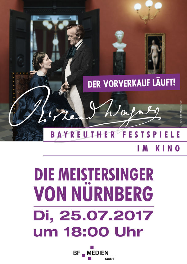 bayreuth 2017 die meistersinger von n rnberg kinoprogramm im kinopolis gie en. Black Bedroom Furniture Sets. Home Design Ideas