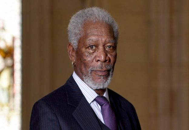 Morgan Freeman spielt Colin Powell
