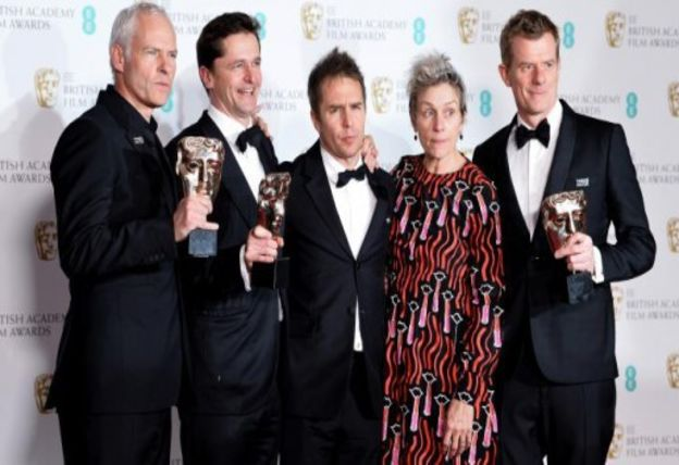 "BAFTAs: ""Three Billboards Outside Ebbing, Missouri"" auf Oscar-Kurs"
