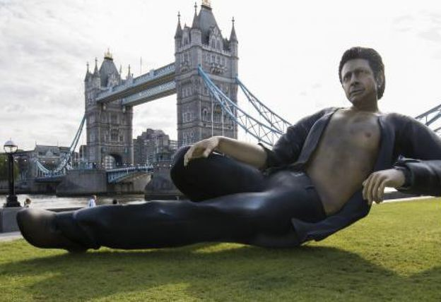 Gigantischer Jeff Goldblum in London