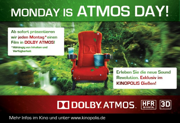 Monday ist ATMOS DAY!