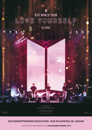 """BTS WORLD TOUR LOVE YOURSELF IN SEOUL"" – einmalig im Kino!"