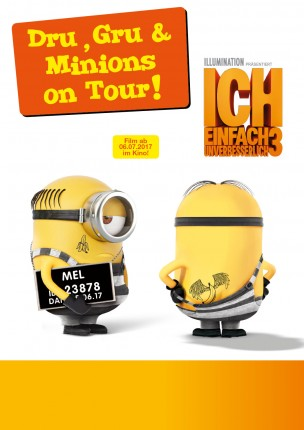 Dru, Gru & Minions on Tour