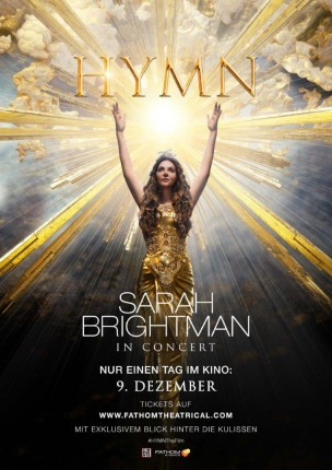 Sarah Brightman in concert: HYMN