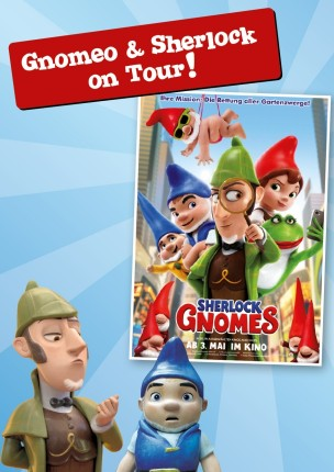 Gnomeo & Sherlock on Tour!