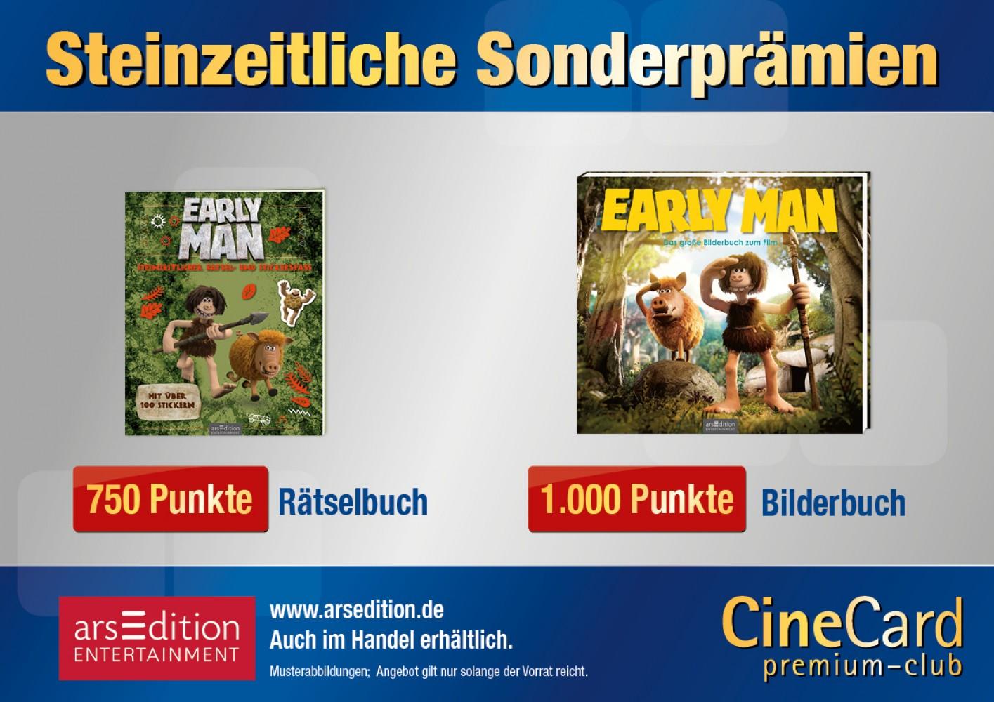 CineCard Bonussystem – Prämien und Privilegien – Universum-City Kinos