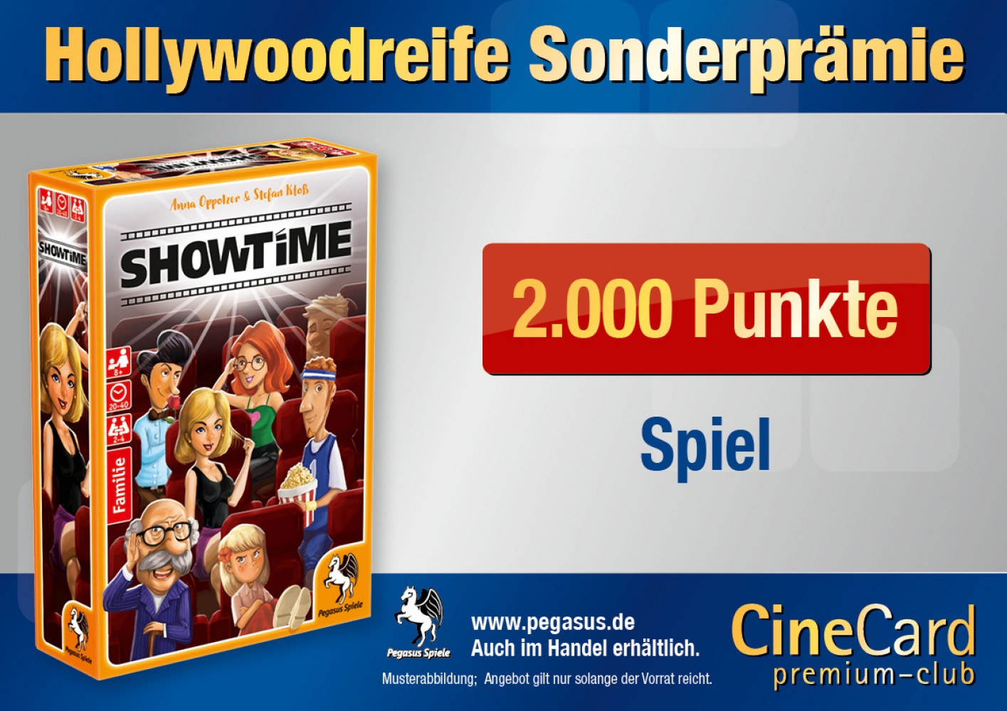 CineCard Bonussystem – Prämien und Privilegien – KINOPOLIS Main-Taunus