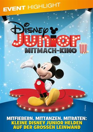 8. Disney Junior Mitmach-Kino