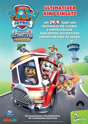 PAW PATROL - Ultimativer Kinoeinsatz