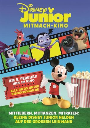 9. Disney Junior Mitmach-Kino