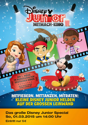 1. Disney Junior Mitmach-Kino