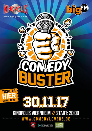 Comedy Buster - 2te Live Comedy Mix Show