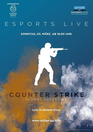 eSports live Finale Intel Extreme Masters / CS
