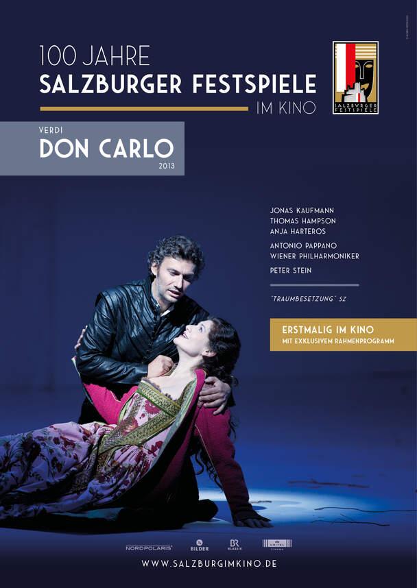 Verdi - Don Carlo (Salzburger Festspiele im Kino - Saison 2020/21)