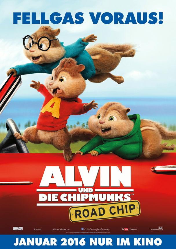 Alvin Und Die Chipmunks Road Chip Kinoprogramm Im Mathäser Filmpalast