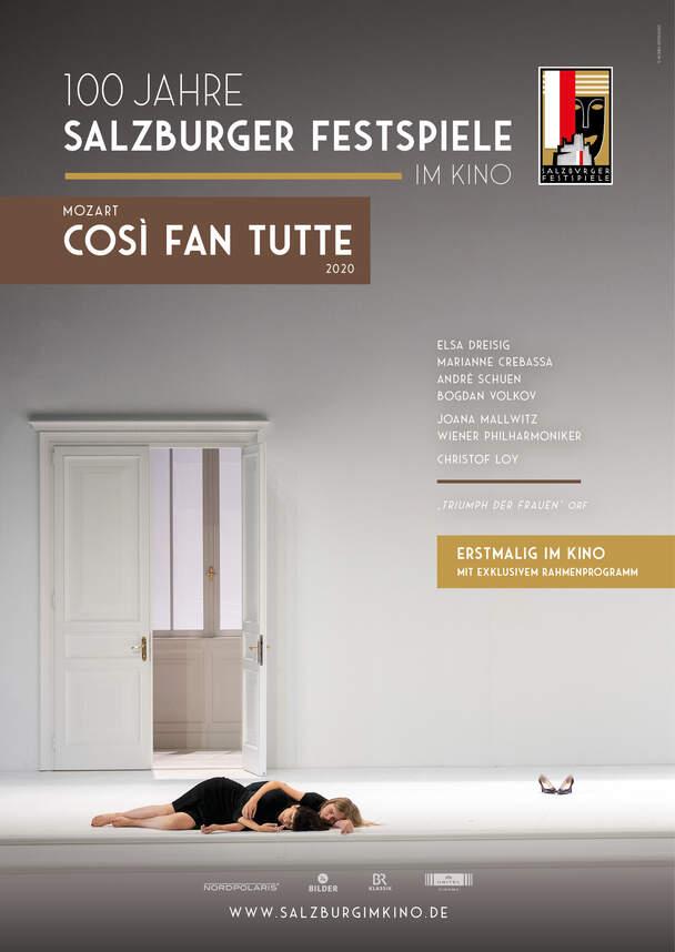 Mozart - Cosi Fan Tutte (Salzburger Festspiele im Kino - Saison 2020/21)