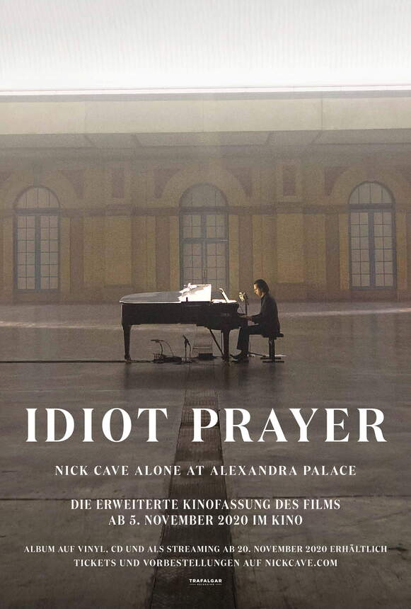 Plakat IDIOT PRAYER - Nick Cave Alone at Alexandra Palace