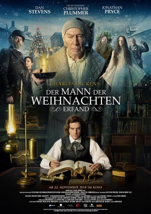 Charles Dickens: Der Mann, der Weihnachten erfand – Kinoprogramm im ...