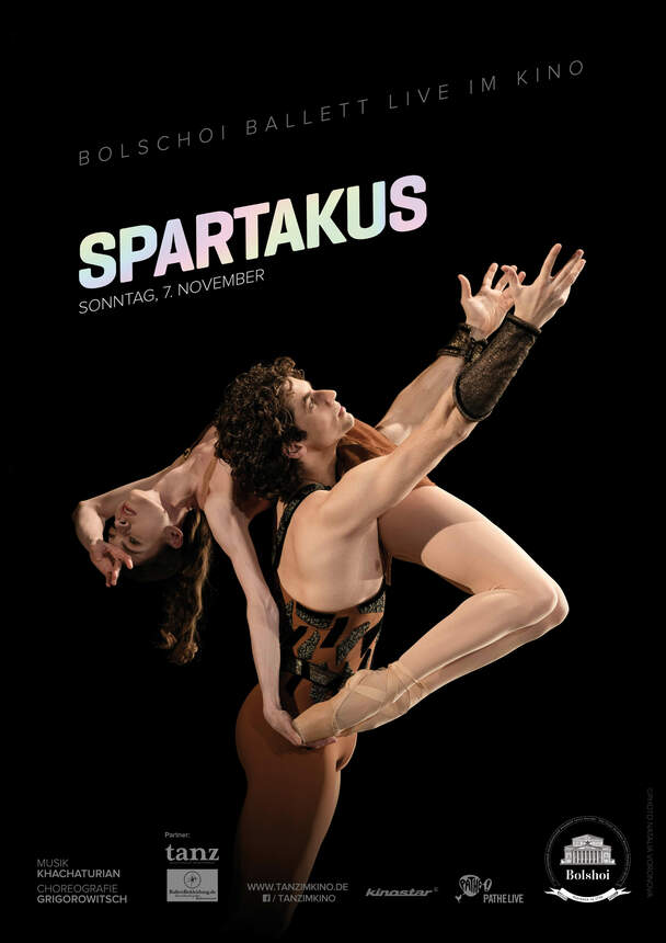 Spartacus (Die Bolshoi Ballett Saison 2021/22 - LIVE)