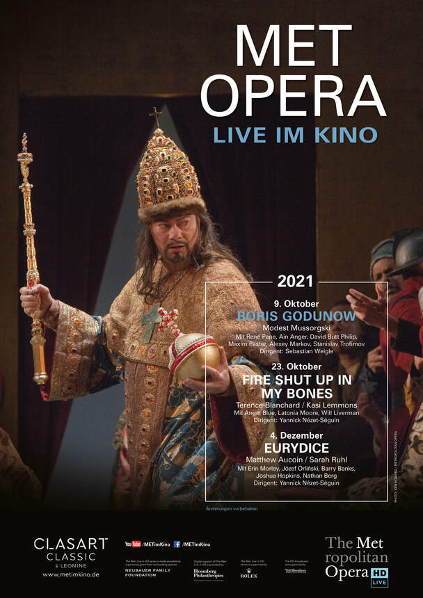 Mussorgski: Boris Godunow (MET live im Kino)