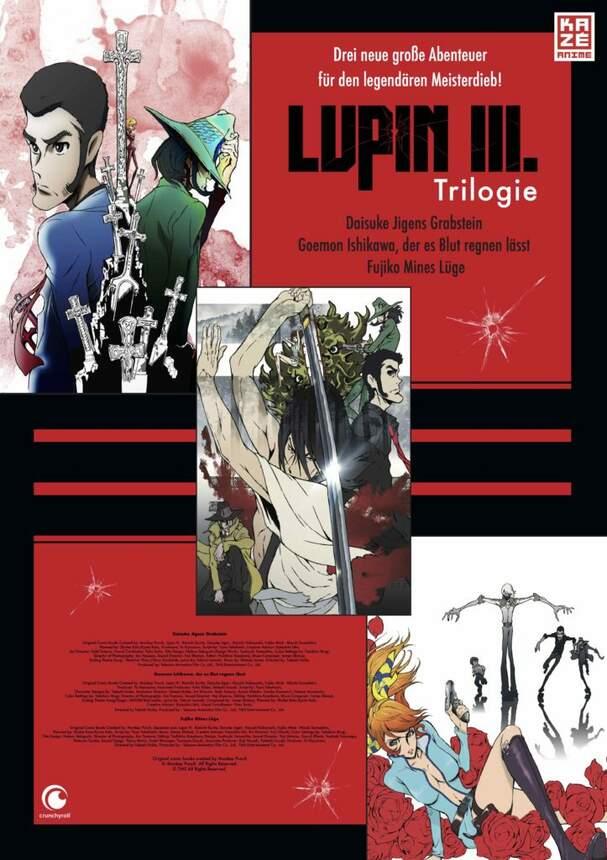 Lupin the IIIrd: OVA-Triple