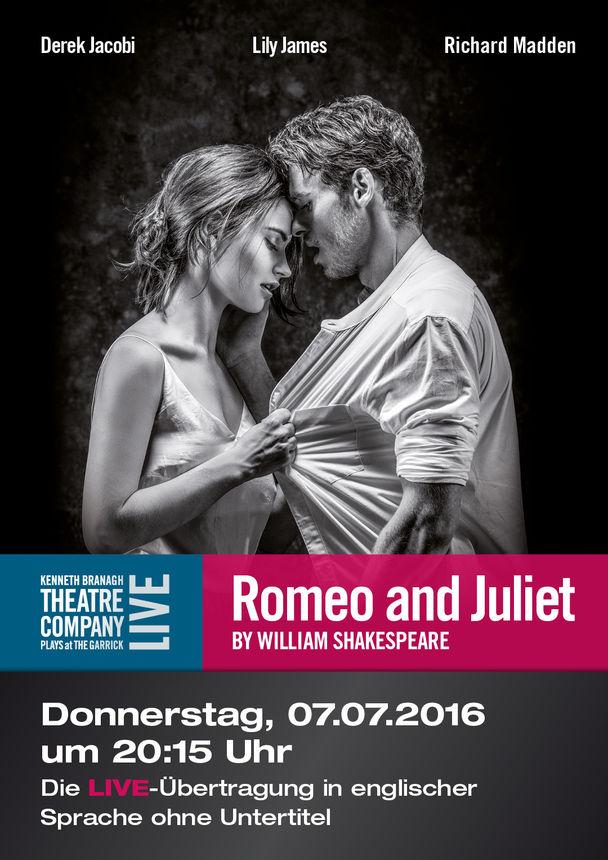 Shakespeares: ROMEO  AND  JULIET (Garrick Theatre London)