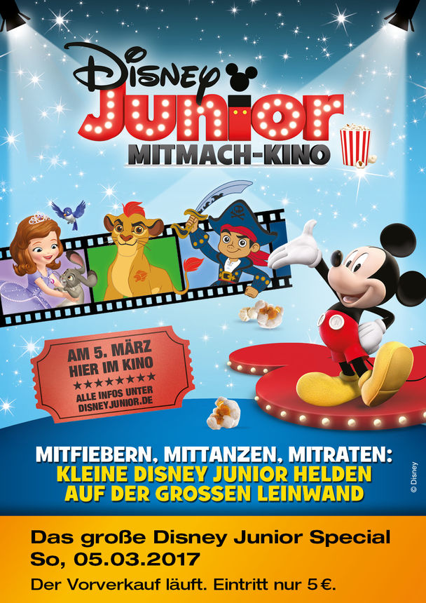 3 disney junior mitmach kino kinoprogramm im kinopolis koblenz. Black Bedroom Furniture Sets. Home Design Ideas