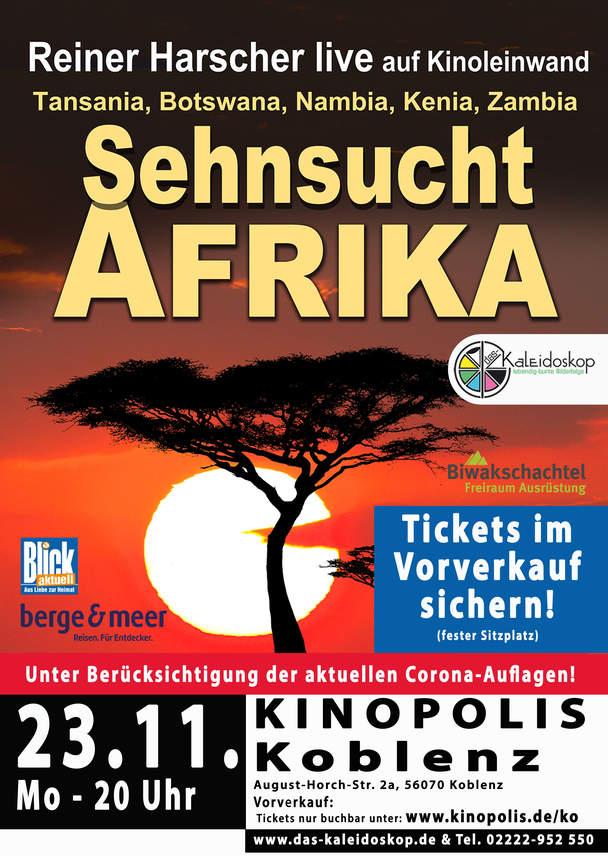 SEHNSUCHT AFRIKA - Auf Safari in Tansania, Botswana, Kenia, Namibia, Zimbabwe un