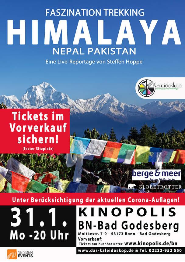 Himalaya - Faszination Trekking - Nepal, Pakistan (Live-Reportage)