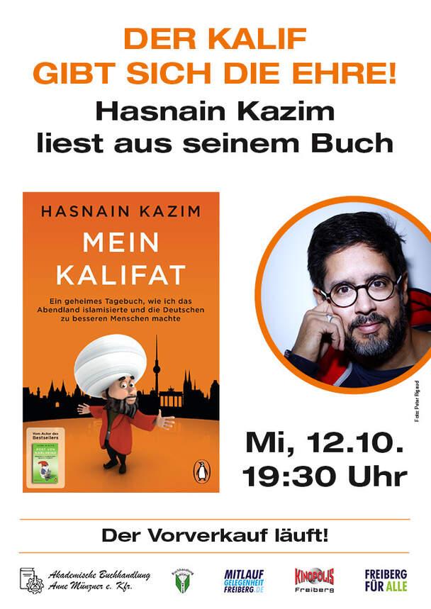 "Hasnain Kazim Lesung ""Mein Kalifat"" (Live)"