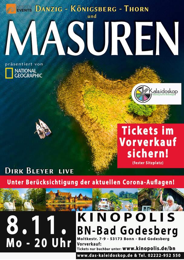 MASUREN + Thorn - Danzig - Königsberg (Live-Reportage)
