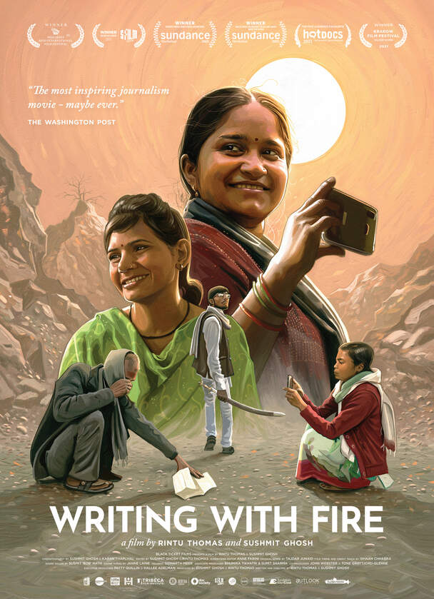Writing with Fire (hind.)