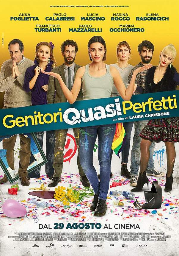 GENITORI QUASI PERFETTI - Fast perfekte Eltern (ital.)